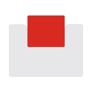 "Urethane Die Pad, Red 80A, 25mm x 30mm [.984"" X 1.181""]"